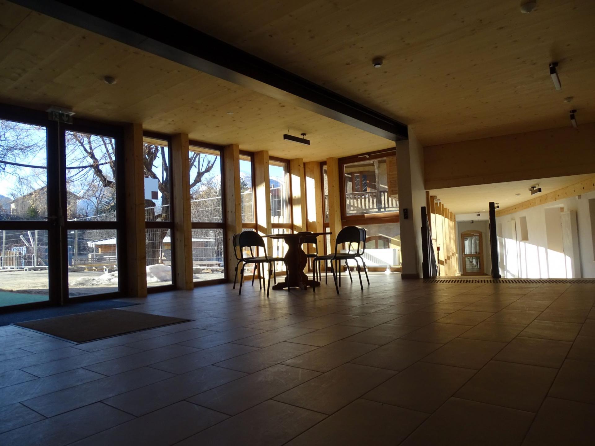 Nouveau Hall d'accueil